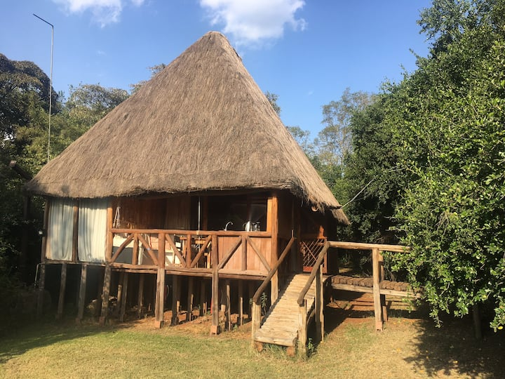 3 Tree-Houses at Ngong House on 4ha in Karen.