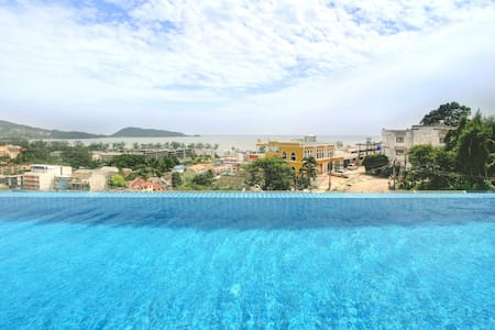Modern 1 bed Condo rooftop pool - Kathu - Wohnung