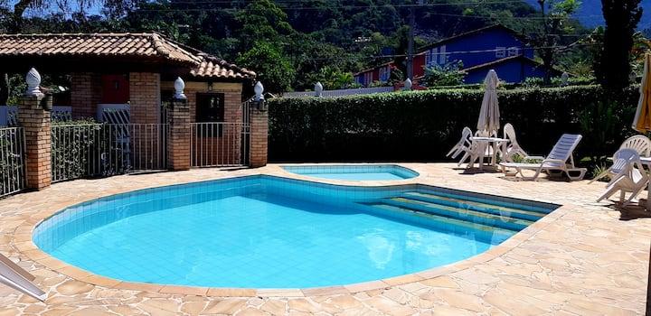 Casa aconchego em Penedo na Serra da Mantiqueira