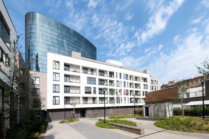 Chambre individuelle Bxl - Bruxelles - Apartmen