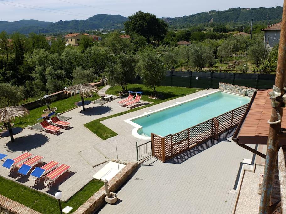 Casa vacanze la fonda gelsomino houses for rent in for Magra ai piani di casa