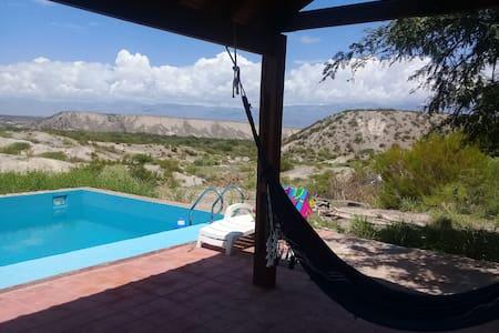 Buena vista en Amaicha del Valle