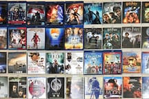 Tons of Bluray Full HD 1080p DVDs. 大量1080p全高清蓝光DVD大片
