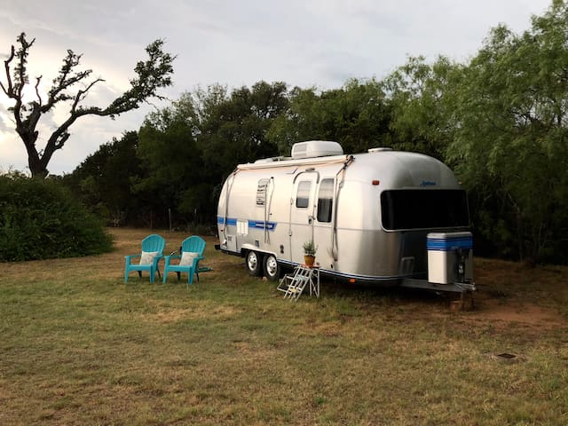 Vintage Airstream Tiny Home, Great Location!