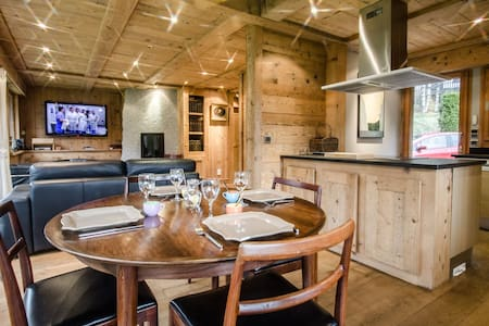 JUNE - Superb chalet near the slopes and the center of Chamonix - CHAMONIX