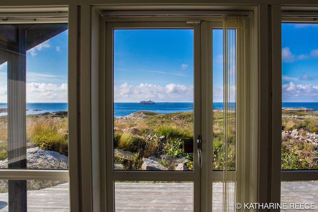 Living room view. Photo Katharine Reece