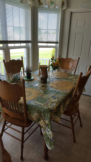 My dining room table!