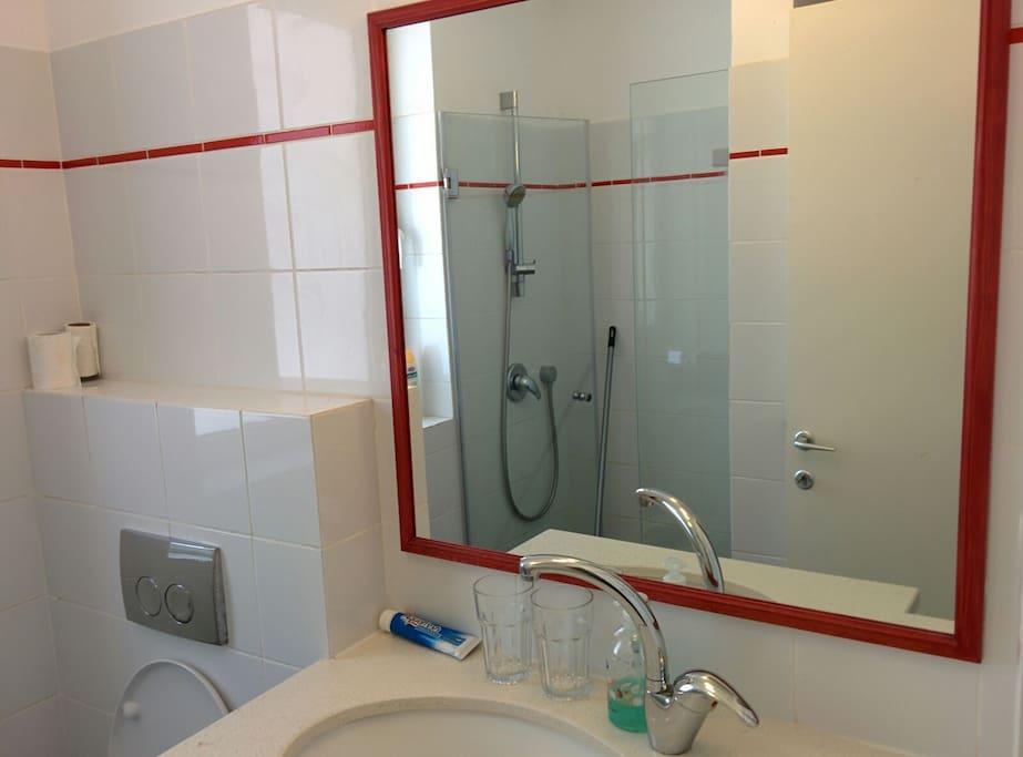 A bathroom/ Show