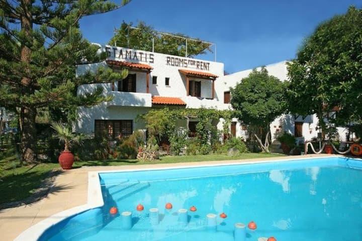 Summer Lodge triple room in Crete 1