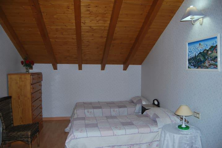 Habitacion doble con posibilidad de una 3ª cama - Malpartida de Plasencia - Chalé