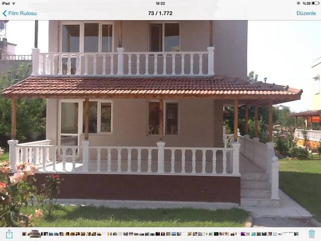 DİKİLİ YAZLIK EV-RENTAL SUMMERHOUSE - Kabakum - Villa