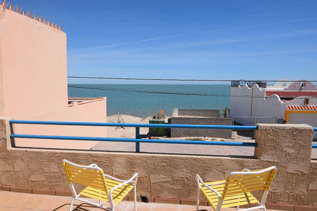 Casa Cook San Felipe beach side rental house - beach view