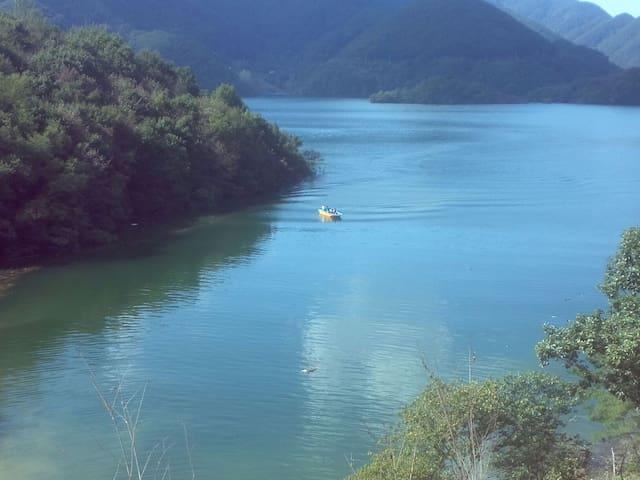 호수가 별장 독채 - 제천시 - 別墅