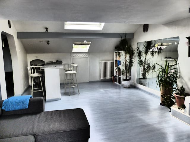 Appartement Atypique et Lumineux - Viry-Châtillon - House