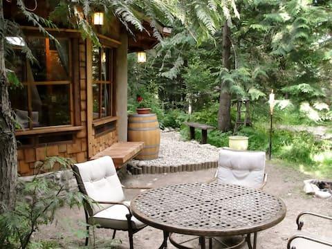 Cedar Fern;  beautiful, handcrafted cob studio