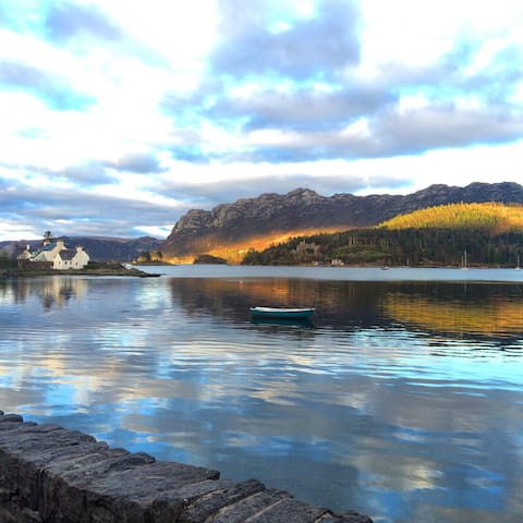 Plockton waterfront, ideal location - Plockton - Byt