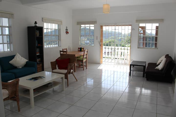 Apartment in St Vincent for vacations & Students.