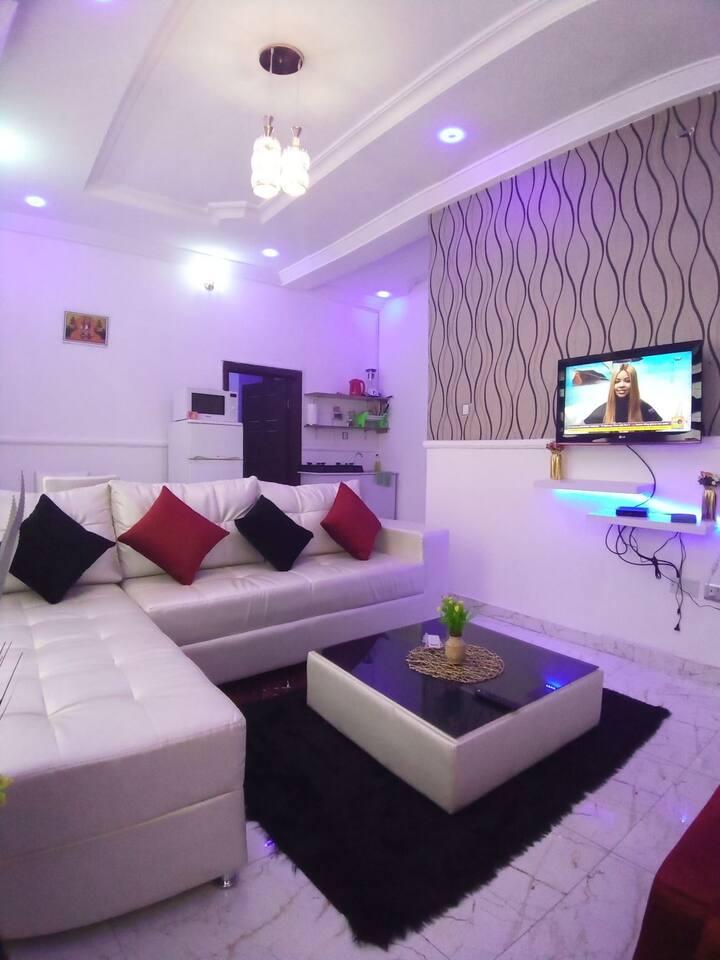 Beautiful and serene mini flat apartment