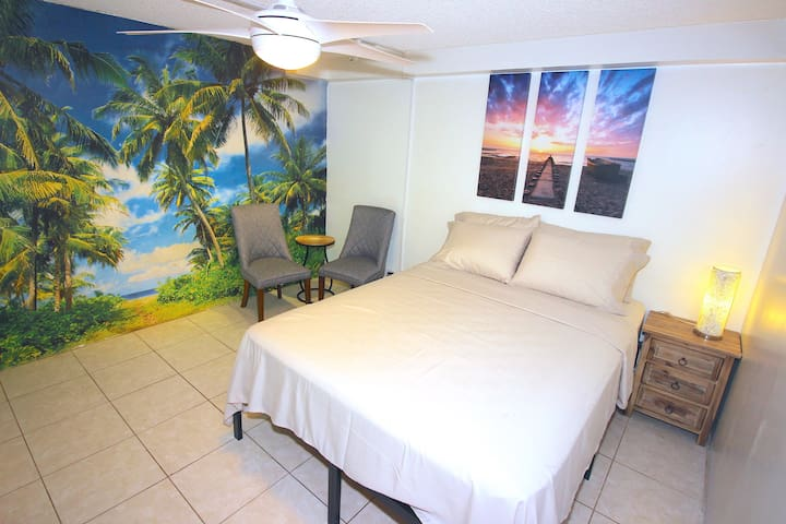210 TROPICS!! IN PARADISE!  BLOCK FROM BEACH!!