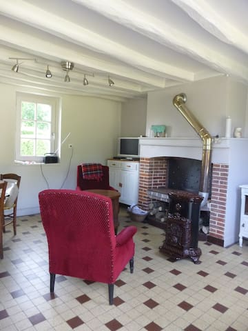 Lovely Normand house 1h30 off Paris