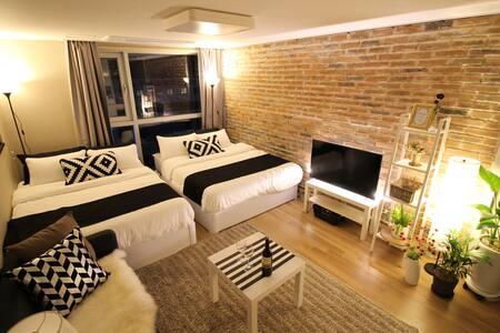★SALE★near HongDae(4min) Itaewon. - Yeongdeungpo-gu - Appartamento