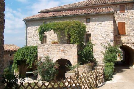 ancien mas en pierre avec jardin - Orgnac-l'Aven