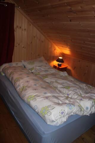 Bedroom number one, second floor