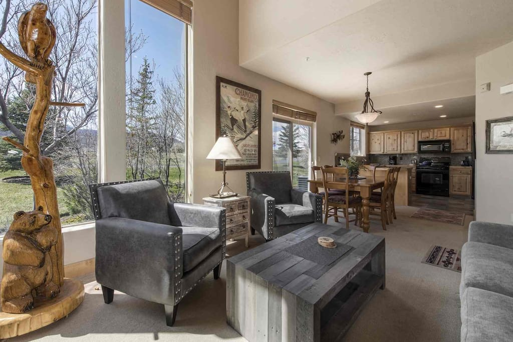 Our beautiful and modern mountain designed Redstone townhome that features 3 bedrooms, 2.5 bathrooms, gourmet kitchen, 2-car garage and more.