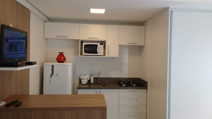 Apartamento novo e aconchegante no Centro