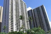 Waikiki Banyan - 2 building complex.