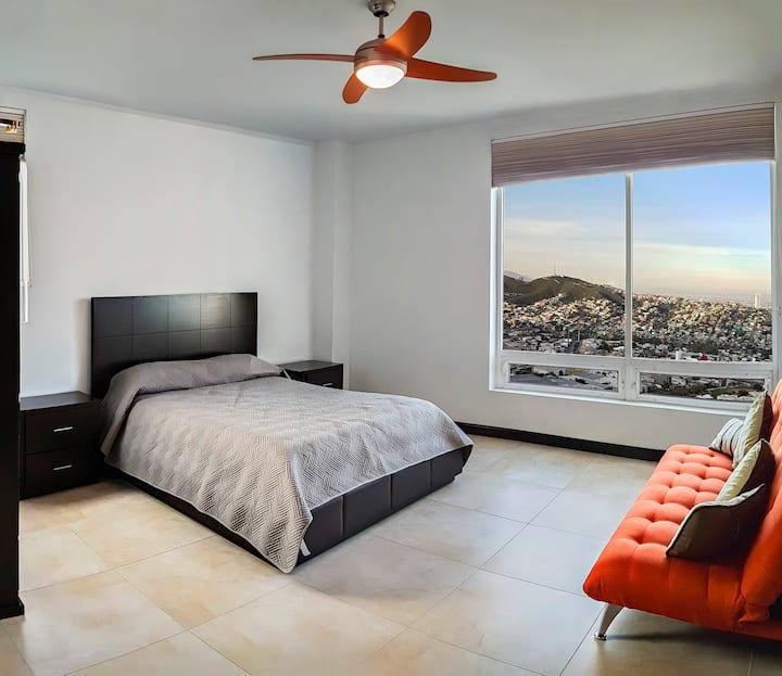 PH in Valle Oriente, private room plus sofa bed