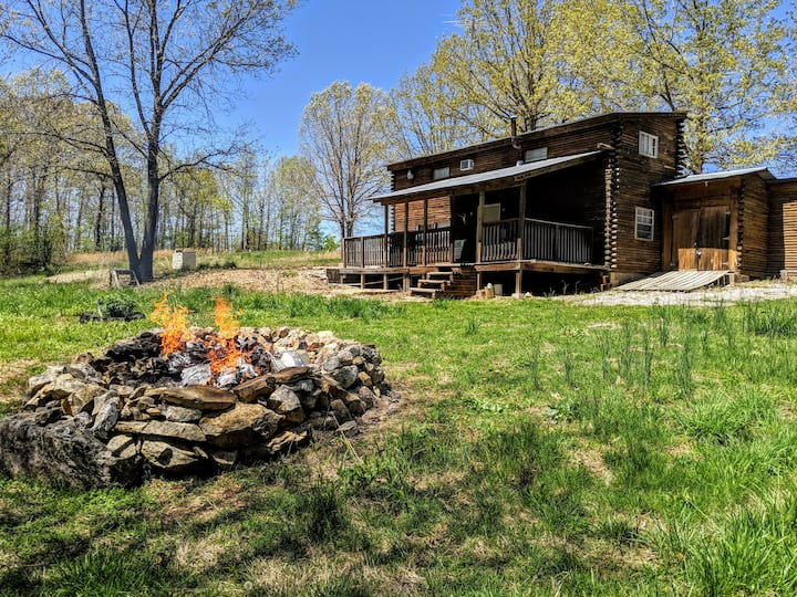 "Spring River Cabin & Camping- The ""Big"" Cabin"