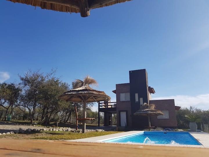 Cabaña para Turismo durante todo el año en Merlo