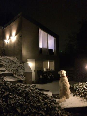 Hus i smuk natur tæt på Århus - Egå - Leilighet