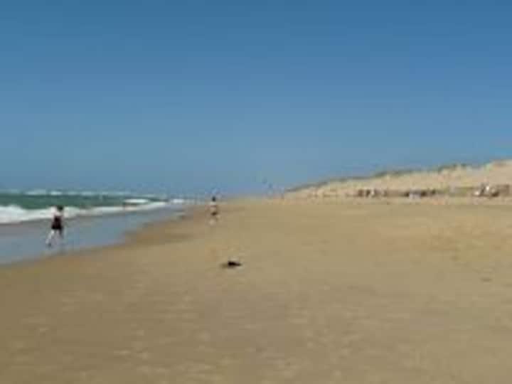 mh climatisé 4 perso à 15mn des plages