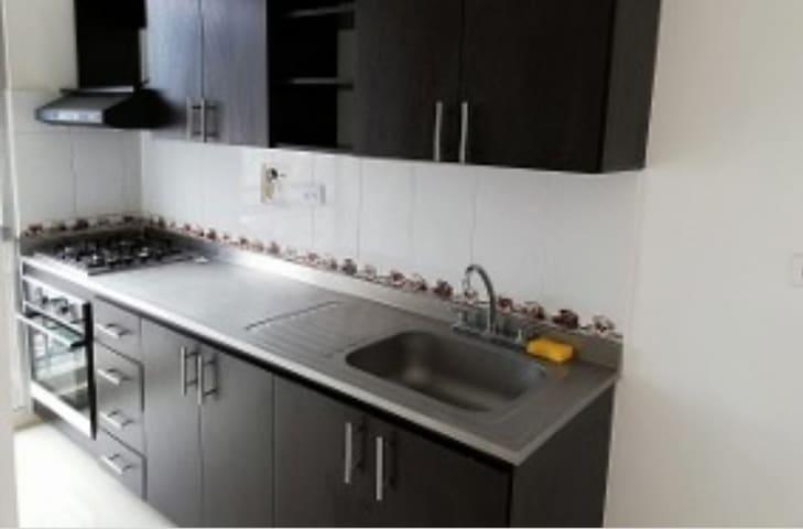 Cómodo y completo apartamento
