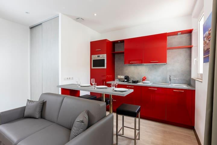 Appartement avec Terrasse proche des plages