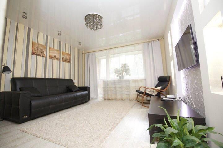 Уютная квартира в тихом центре на 1м этаже