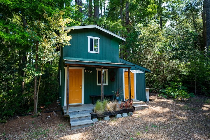 Tiny Cabin in the Redwoods