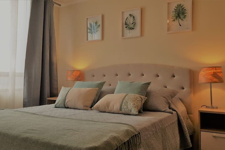 Nice & very central apartment with parking