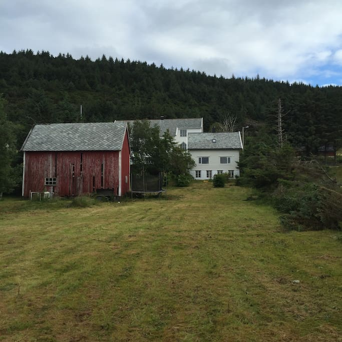 The house is part of a small farm - no longer operative