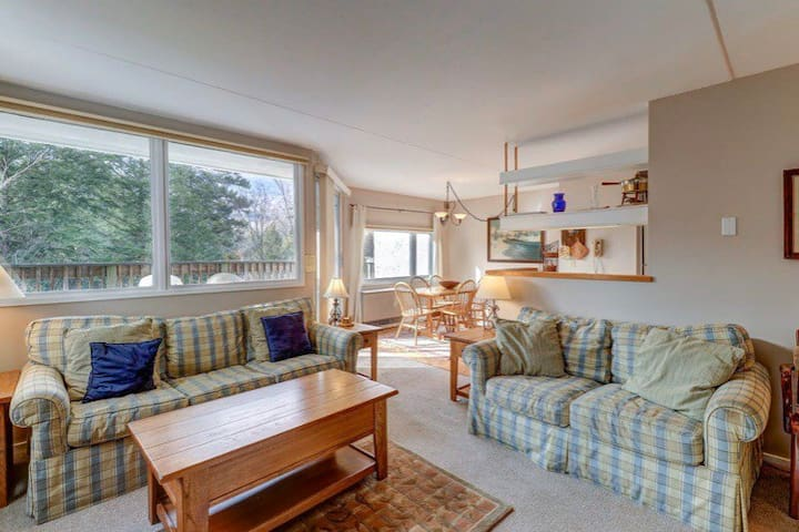 Private 1Bed/1Bath Condo, walking to the slopes!