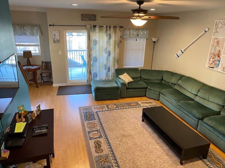 Family Friendly Home in Wildwood.  Sleeps 10-12