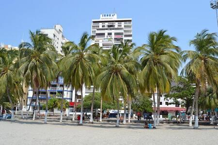 Apartamento(Vista al Mar) El Rodadero-Santa Marta - Santa Marta - Wohnung