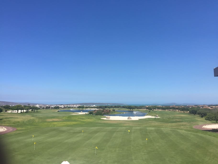 View of Golf course from Clubhouse