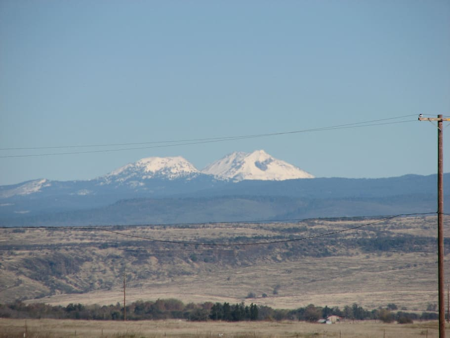 Mt. Lassen - 80 miles northeast