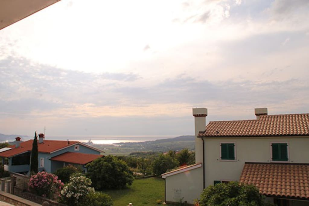 A view towards Koper.