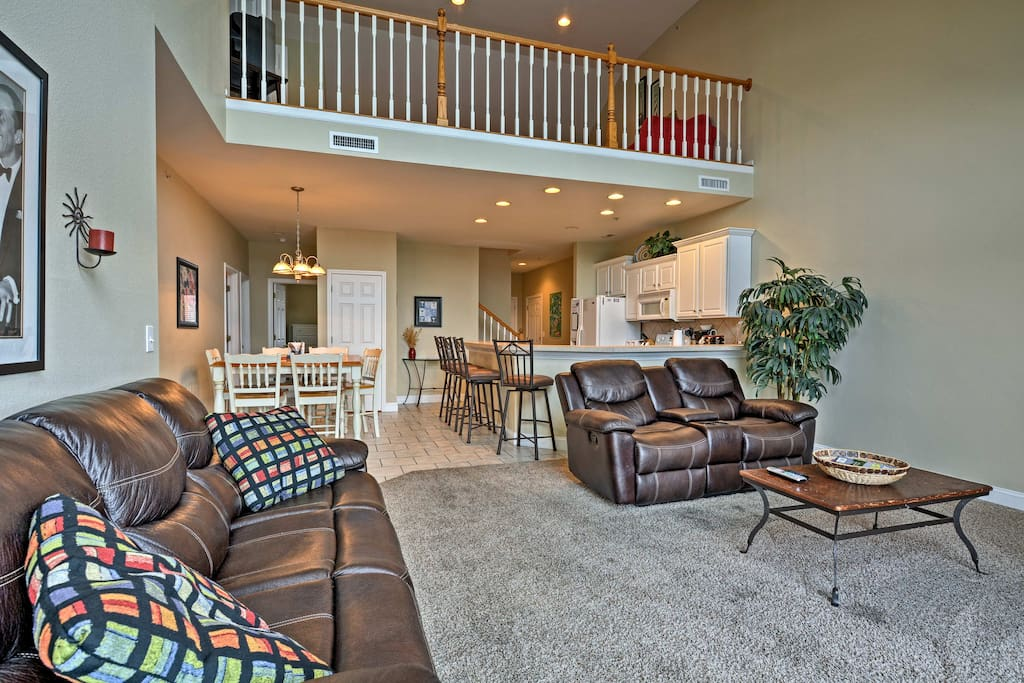 Make yourself at home in the 1,995 square feet of living space.