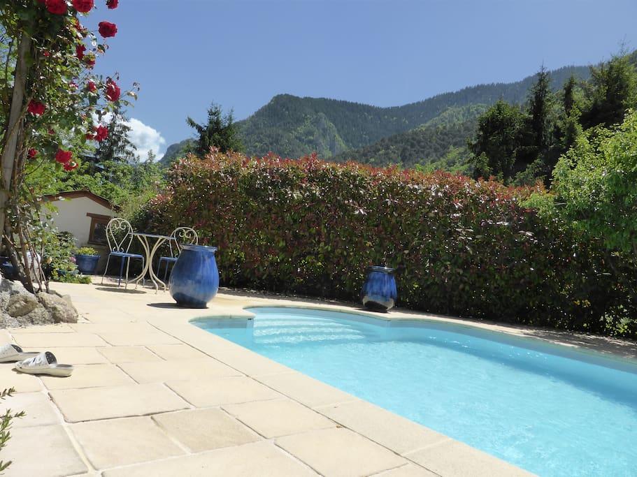 chalet piscine familiale privee maisons 224 louer 224 martin v 233 subie provence alpes c 244 te