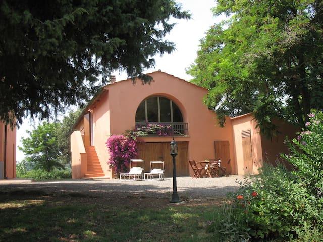 fienile 6 posti letto vicino mare - Rosignano Marittimo - Rumah
